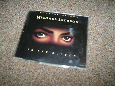 Michael Jackson - In The Closet 6 Track Remixes Rare CD Single