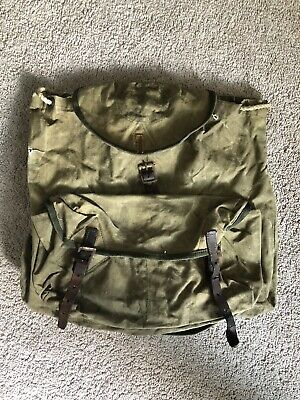 Vintage Boy Scouts of America National Council New York Mini Backpack