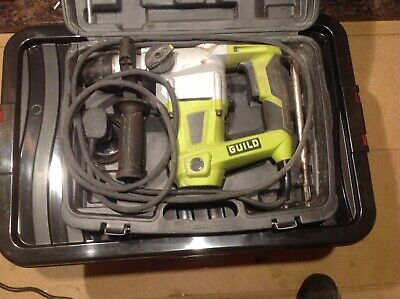 Guild 1000W SDS Rotary Hammer Drill PDH26G  + CARRY- CASE USED