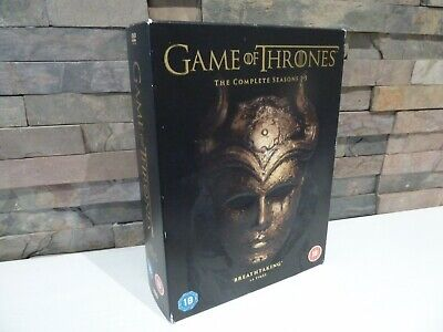 Game Of Thrones : Seasons 1 2 3 4 5 Dvd Set - Fast/Free Posting.
