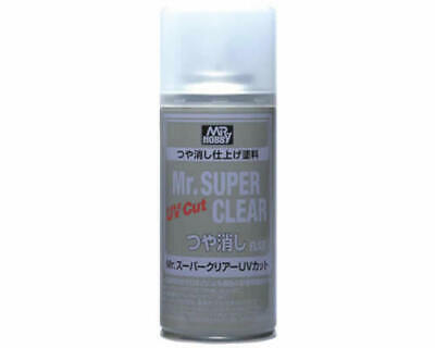 Mr.Hobby B523 Mr.Super Clear Spray trasparente opaco anti-UV (170ml) modellismo