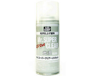 Mr.Hobby B522 Mr.Super Clear Spray trasparente lucido anti-UV (170ml) modellismo