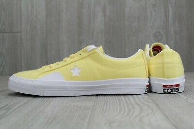 Details about Converse x Chocolate One Star Pro Low Top Yellow White Cons 159380C (G)
