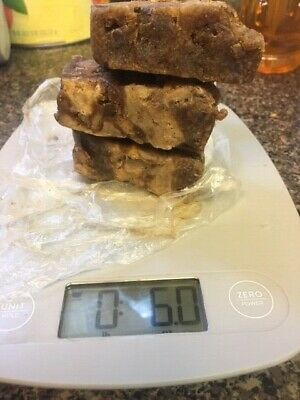 2 oz Natural Pure Raw African Black Soap Organic, Unrefined GHANA west Africa
