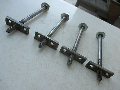 ANTIQUE BED BOLTS With Nuts - Set of 8 - $35 00 | PicClick
