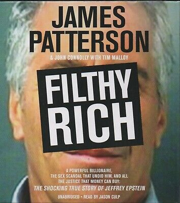 FILTHY RICH by James Patterson & John Connolly ~ Unabridged Six-CD Audiobook