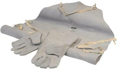 Sip - 25112 - Leather Welding Apron And Glove Set