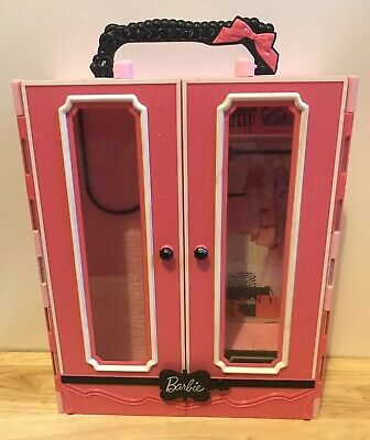 Barbie Fashionistas Ultimate Closet Pink & Black Carry Toy