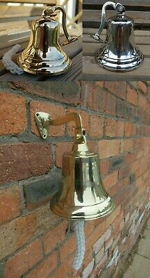 ANTIQUE VINTAGE VICTORIAN RETRO STYLE School dinner pub last orders door bell
