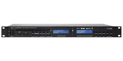1U Rackmount CD/USB/SD Player with Bluetooth and DAB/FM Tuner - APART