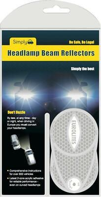 Car Headlight Beam Converters, Right Hand Drive - SIMPLY