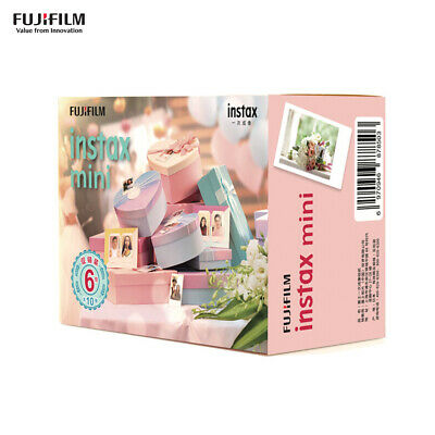 60 Sheets Snapshot Instant Print Flim Photo Paper for Fujifilm Instax Mini O2B4