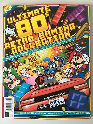 Retro Gamer ULTIMATE 80S RETRO GAMING COLLECTION - Outrun / Mega Man / Pac Man +