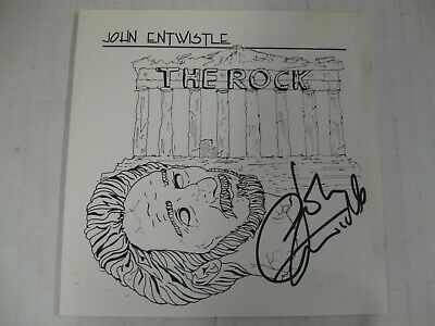JOHN ENTWISTLE the rock CD limited edition numbered autographed WHO rare SIGNED!