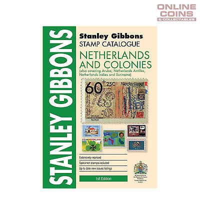 2017 Stanley Gibbons - Stamp Catalogue Netherlands and Colonies Book 1st Edition