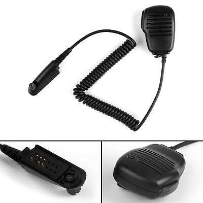 Handheld Speaker Microphone For Motorola GP328/338 PTX760 GP340/380 MTP700 M
