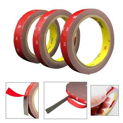 3M 5mm-10mm Double Sided Clear Acrylic Foam Adhesive Tape Strong Sticky Tape