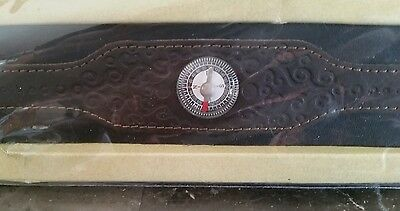 Disney's Prince of Persia Cinema Giveaway Leather Wristband Compass 2010 rare