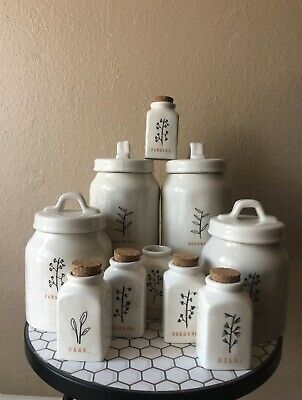 Rae Dunn Pottery Artisan Collection by Magenta (9 piece)