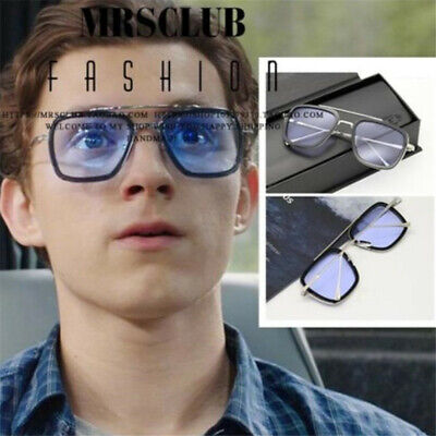 Spider-Man: Homecoming Cosplay Edith Glasses Peter Parker Iron Man Sunglass Prop