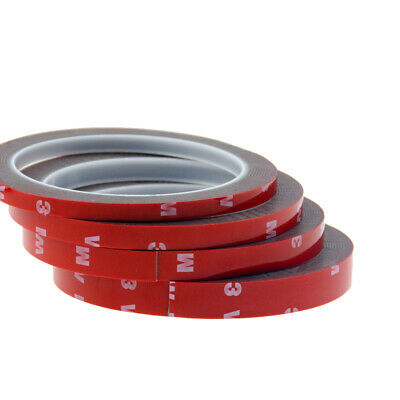 6/8/10/12mm 3WM double-sided tape VHB car red film gray foam cotton strong in AU