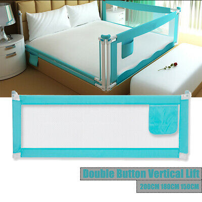 200cm Safety Cot/Bed Rail Guard Bedguard Protection for Baby Infant Toddler Kids