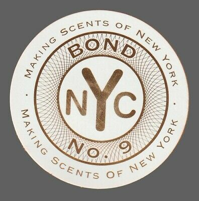 Carte  publicitaire   - advertising card  - NYC Bond N°9