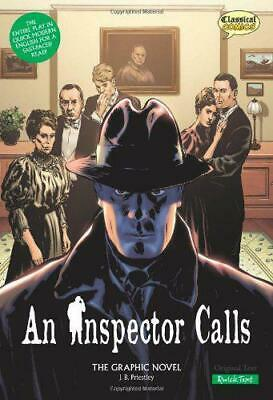 An Inspector Calls the Graphic Novel: Quick Text by J. B. Priestley, NEW Book, F