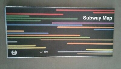 NYC New York City Subway Map MTA May 2019 STANDARD Edition, Never Unfolded, NEW