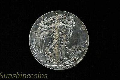 1942 Walking Liberty Silver Half Dollar Very Nice Coin + Free Shipping **L@@K!