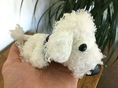 Bichon Frise Toy Miniature Poodle The DOG Artlist Small Soft Toy Unusual Gift