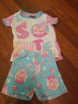 Peppa Pig Pj Girl Summer 2t girls