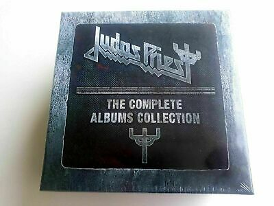 JUDAS PRIEST THE COMPLETE ALBUMS COLLECTION 19 CD BOX SET Sealed Free shipping