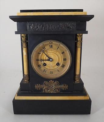 Mantel Clock, Bigelow, Kennard & Co Striking Antique 19th Century