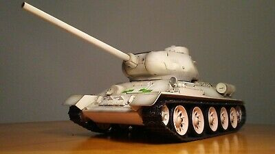 T-34/85 Russian Medium Tank (Metal Edition) Airsoft RTR, 1/16 Scale, Taigen...