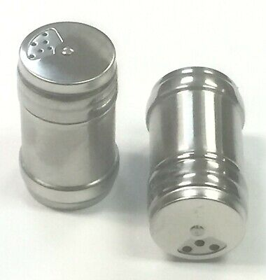 Stainless Steel  Salt and Pepper Shakers Set (2 Pcs)