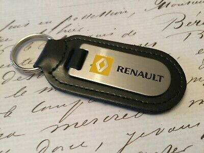 MASERATI Key Ring Etched and infilled On Leather Quattroporte Granturismo GTO
