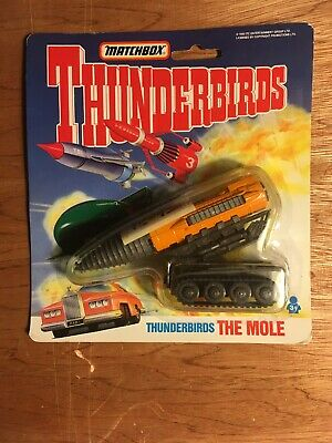 1992 Matchbox Thunderbirds The Mole Vehicle Sealed Moc