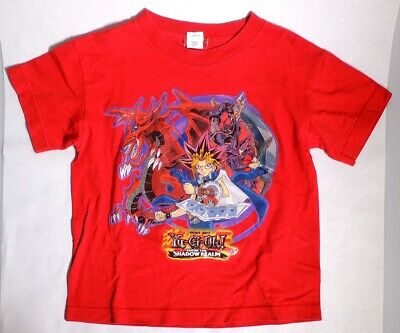 P1100. Yu-Gi-Oh ENTER THE SHADOW REALM Yugi, Slifer Official XS T-Shirt (2000s)