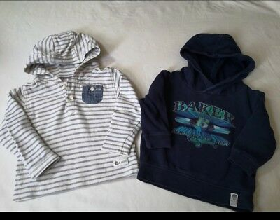 Baby Boys Ted Baker And Next Hoodie - 6-9 Months