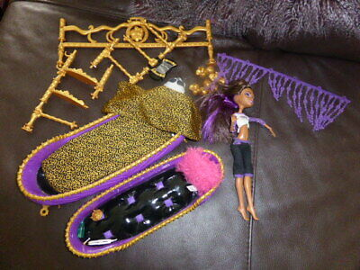Monster High Clawdeen Wolfbed Bunkbed Set And Doll