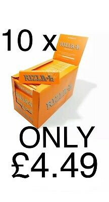 10 Booklets of Rizla Liquorice Rolling Cigarette Papers Free Tracked P&P £3.69