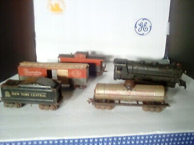VINTAGE 1950'S LOUIS Marx Electric Train Car Combo - $24 99 | PicClick