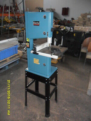 "Clarke Woodworker 245Mm 10"" Bandsaw On Stand Model Cbs250 240V Very Little Use"
