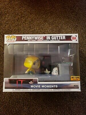 Funko Pop! Pennywise in Gutter - Movie Moments #584 - Hot Topic Exclusive