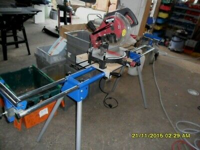 Rexon M2500A Chop Saw On Stand In Excellant Condition Done Little Work