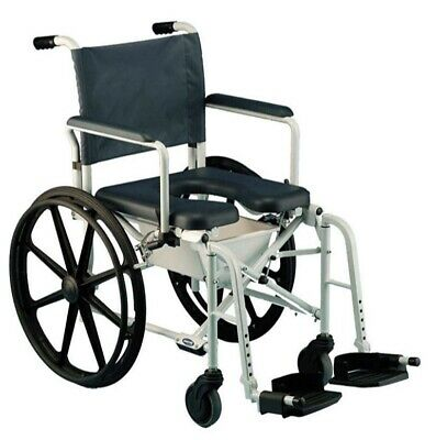 Invacare 6895 Mariner Rehab Shower commode wheel Chair - New Open Box