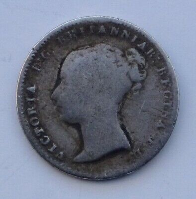 1846 Great Britain Fourpence