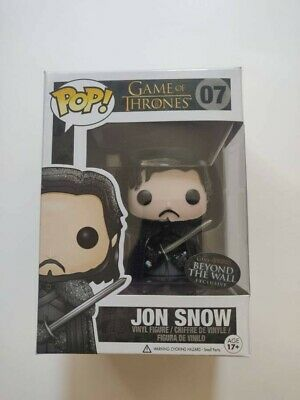 Funko Pop Game of Thrones Jon Snow Beyond The Wall 07 Amazon Exclusive Pop
