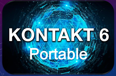 Kontakt 6 Portable By Native Instruments | 47 Libraries Included.